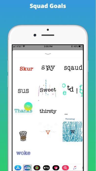 Animated Slang Stickers screenshot four