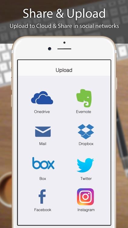 Business Card Scanner, Reader screenshot-4
