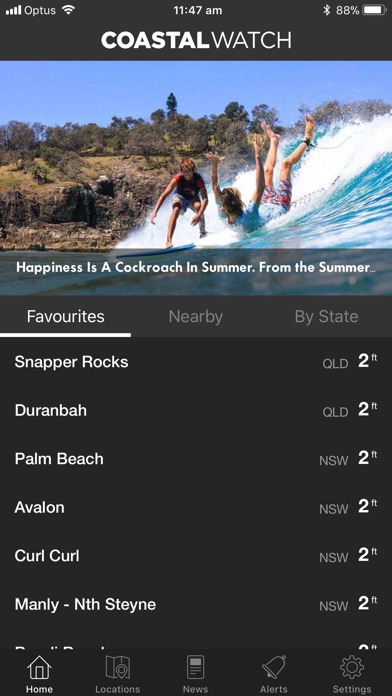 Coastalwatch Surf Check screenshot1