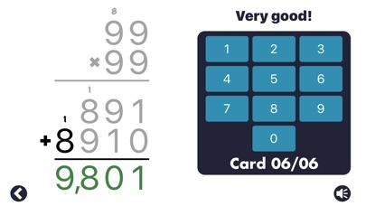 Screenshot #9 for MathEdge Multiplication