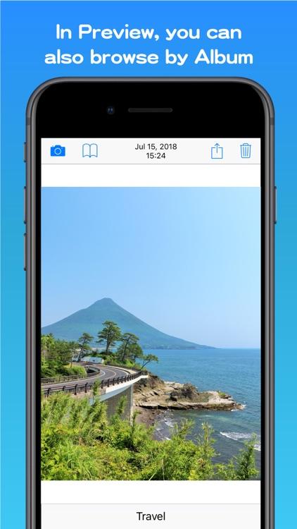 AlbumCamera -Organize Camera- screenshot-3