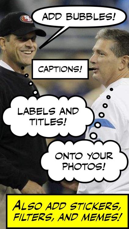 Comic Caption Meme Maker Lite screenshot-0
