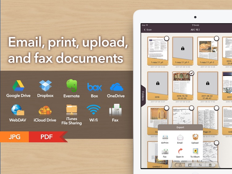 Doc Scan HD - PDF document scanner app screenshot-4