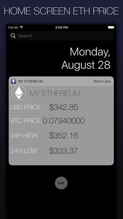 My Ethereum - CryptoC... screenshot1