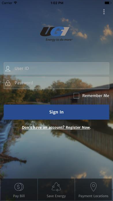 UGI Online Account CenterScreenshot of 1