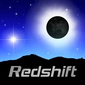 Solar Eclipse by Redshift app