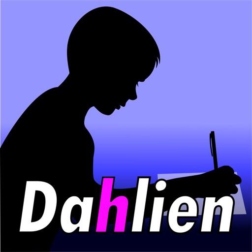 Dahlien-Wörter by Birgitta Welzel
