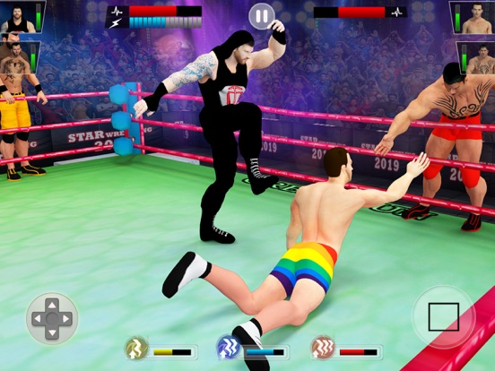 Real Wrestling Revolution 3d screenshot 9