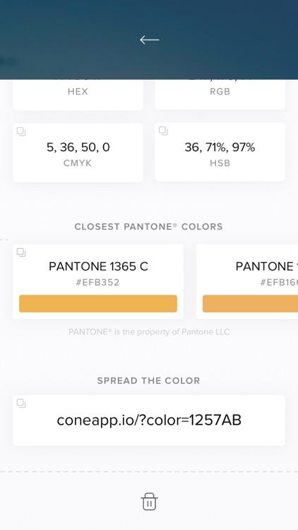 Cone - Live Color Picker screenshot-4