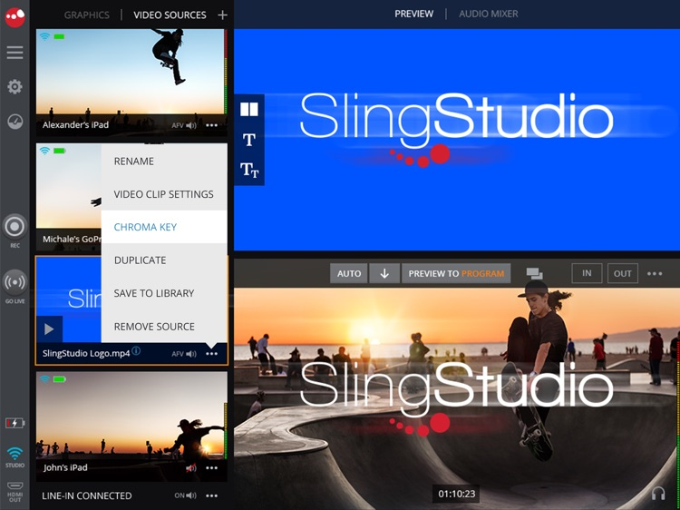 SlingStudio Console screenshot-4