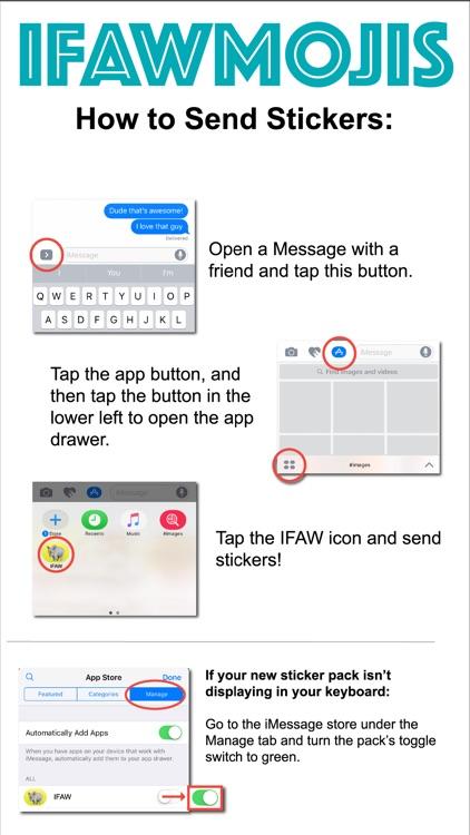 IFAWmojis screenshot-3