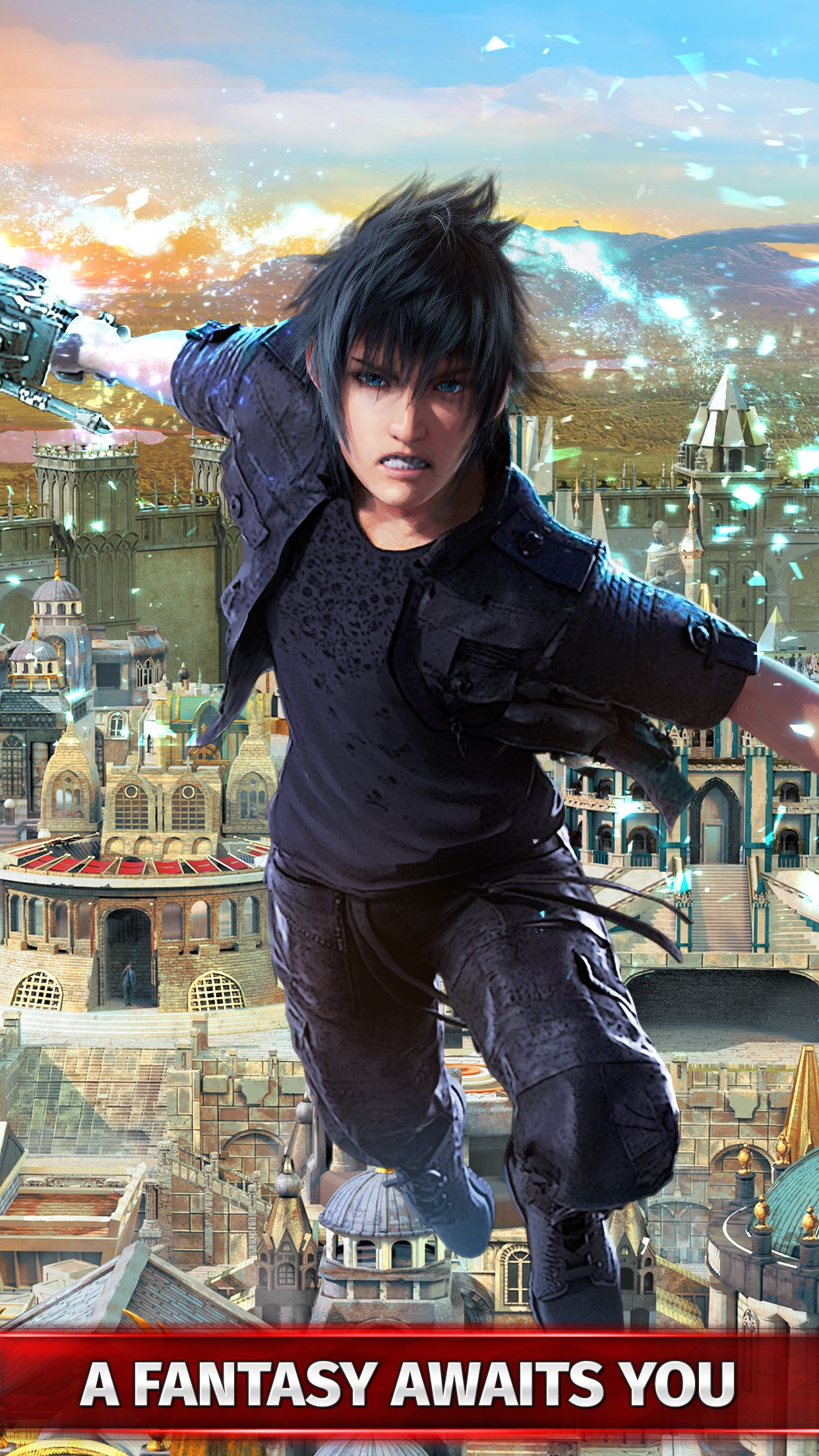 Final Fantasy XV: A New Empire Screenshot