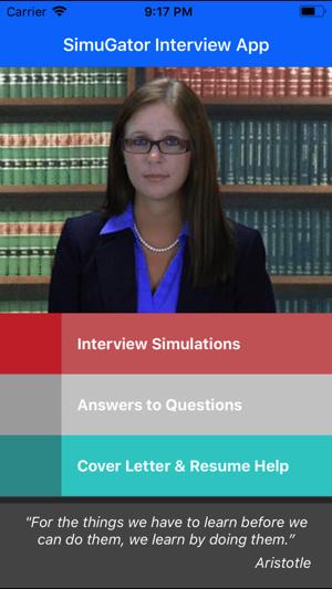 Afbeeldingsresultaat voor job interview prep simugator