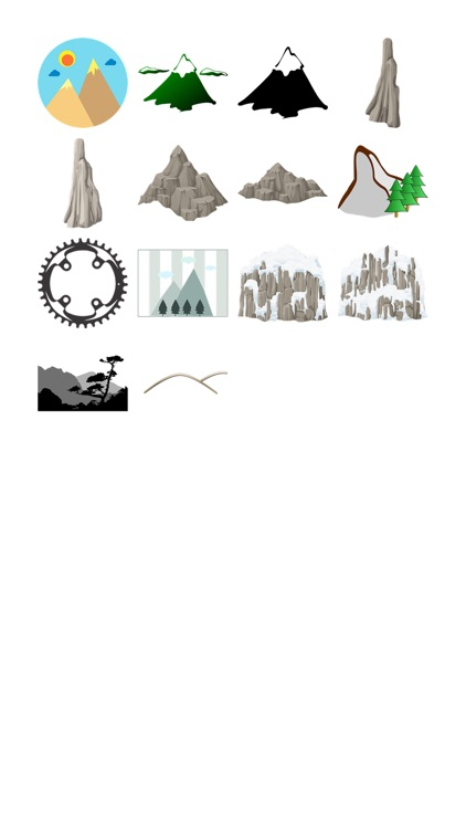 Mountain Stickers!