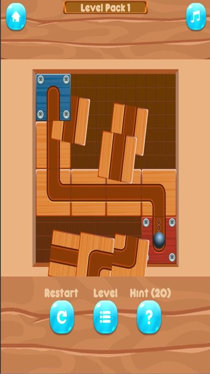 Slide un Roll - unblock puzzle