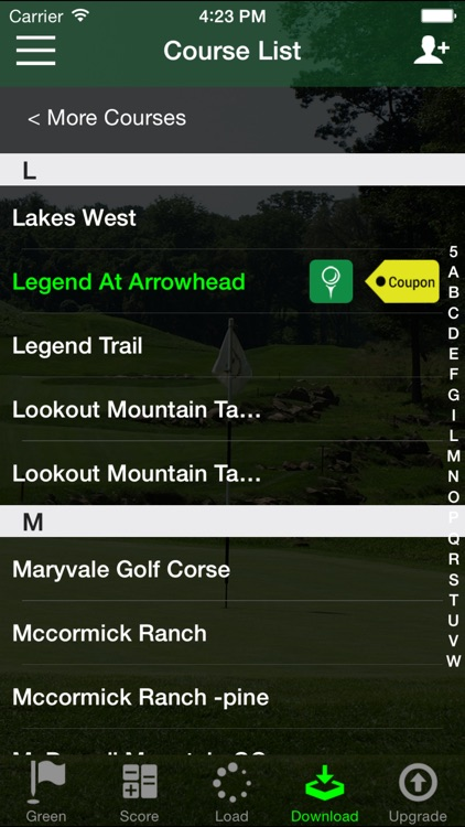 Golf GPS Rangefinder Audio Edition - FreeCaddie screenshot-4