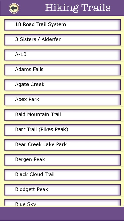 Colorado Camping & Hiking Trails,State Parks screenshot-2