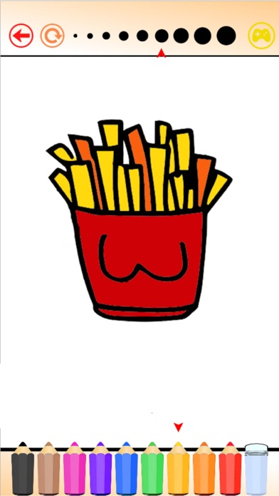 Hello Food - Malbuch für mich & KinderScreenshot von 3