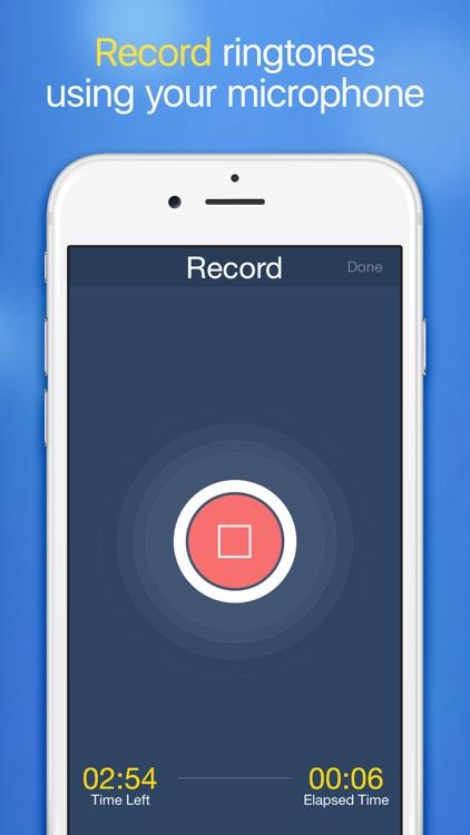 Ringtones for iPhone with Ringtone Maker screenshot-4