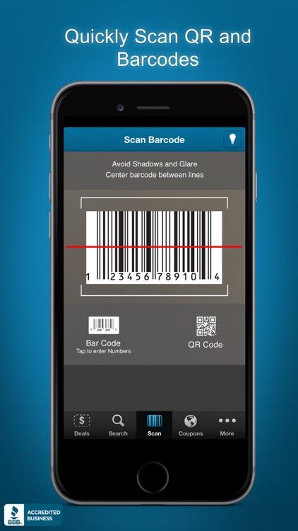 Price Scanner, UPC Barcode Scan, QR Scanner Reader