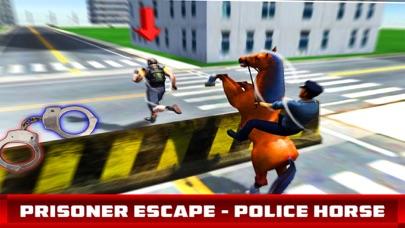 Prisoner Escape - Police Horse screenshot one