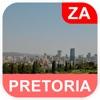 フレトリア、南アフリカ オフラインマッフ - PLACE STARS