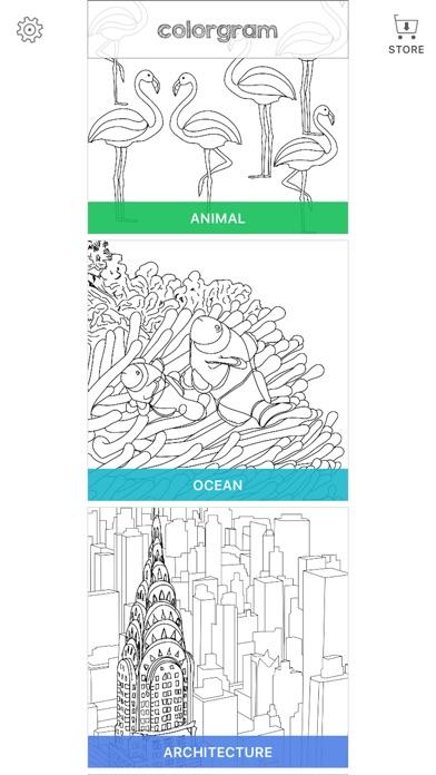 大人の塗り絵 Colorgram : ひみつの花園スクリーンショット4