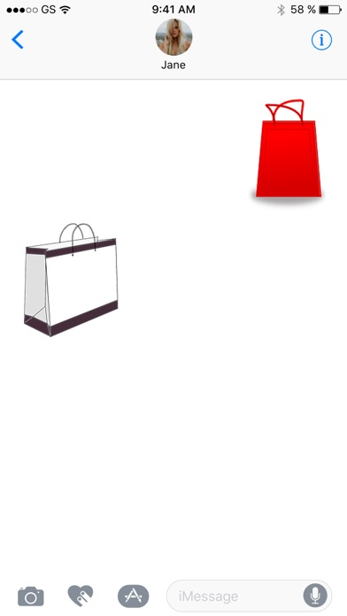 バッグ 6 ステッカー パックのスクリーンショット3