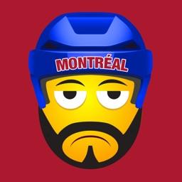 Montréal Hockey Stickers & Emojis