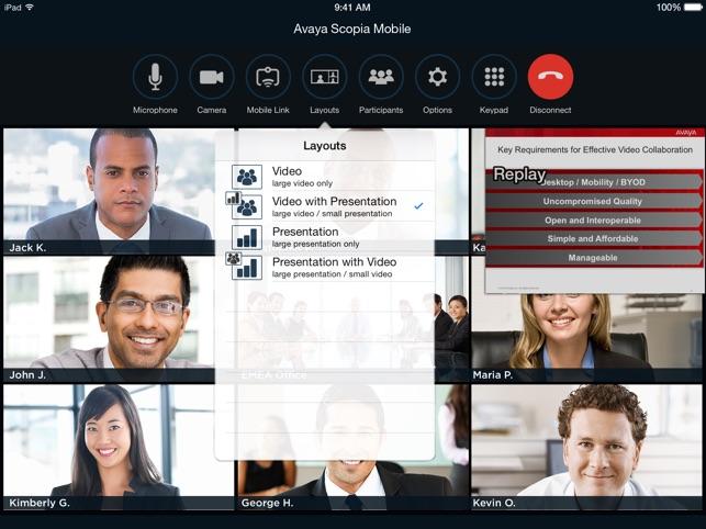 Avaya Scopia Mobile on the App Store