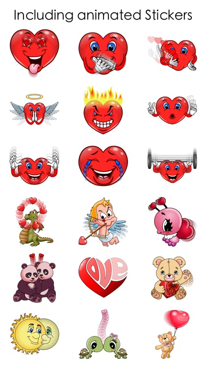 Love Stickers for Valentine's Day