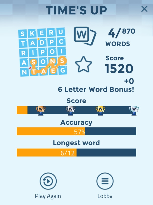 word scramble on the app store