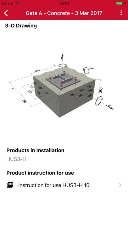 Hilti Installation Advisor screenshot-3