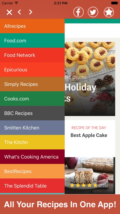 Recipes All In One Pro - Food, Drinks, & More!