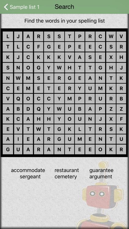 Spelling Test screenshot-4