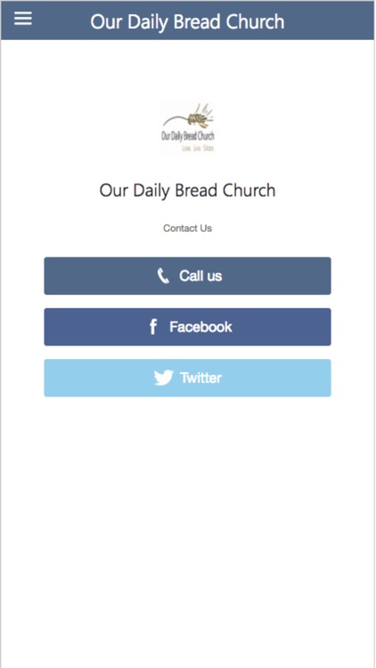 Our Daily Bread Church