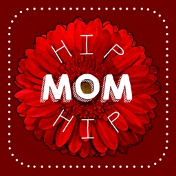 Hip Mom - Mother's Day Stickers