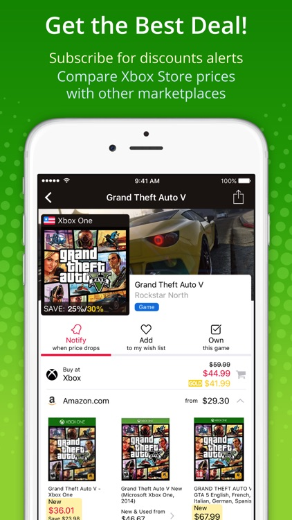 XB Deals - Price Alerts for Xbox One Games Store