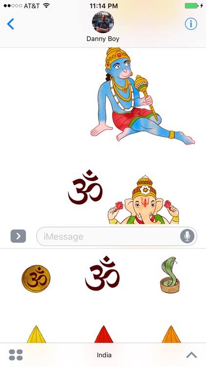 Jazzy India - World Music and Culture Stickers screenshot-4