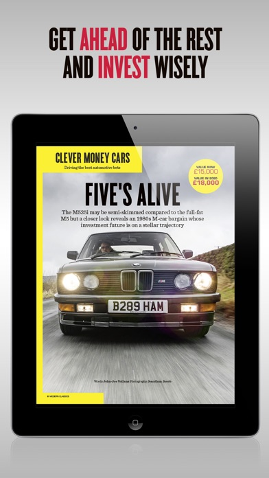 Modern Classics Car Magazine review screenshots