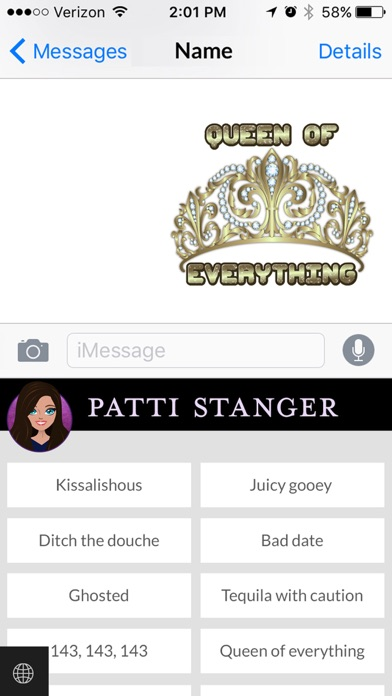 Patti Stanger's PatMoji screenshot 5