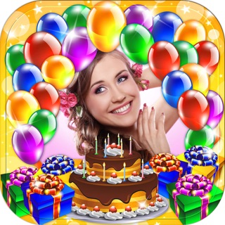 Happy Birthday Photo Frame Greeting Cards Maker