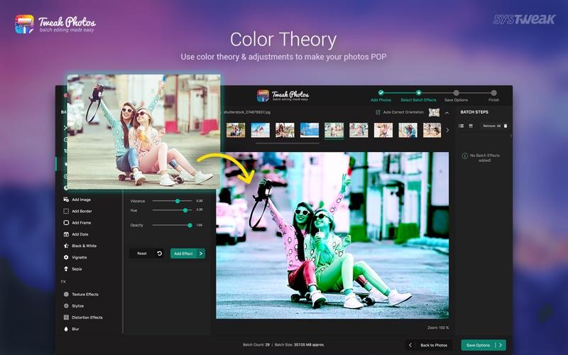 Tweak Photos -  Image Editor