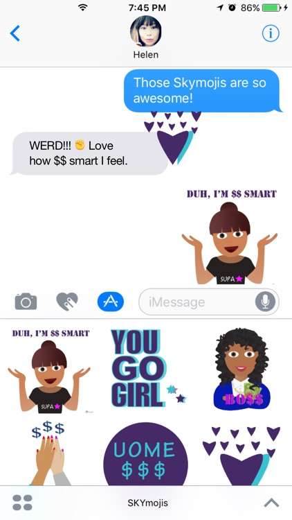 SKYmojis - Skylet Stickers screenshot-0