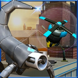 Robot Squad Stealth Operation– Spy Drone Simulator