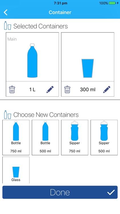 Water App (Reminder & Tracker) screenshot-3
