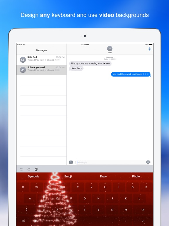 New Symbols Keyboard With Infinity Themes App Price Drops