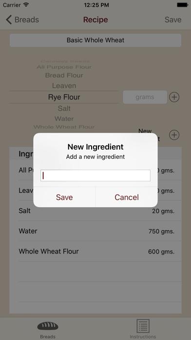 Artisan Bread Maker screenshot
