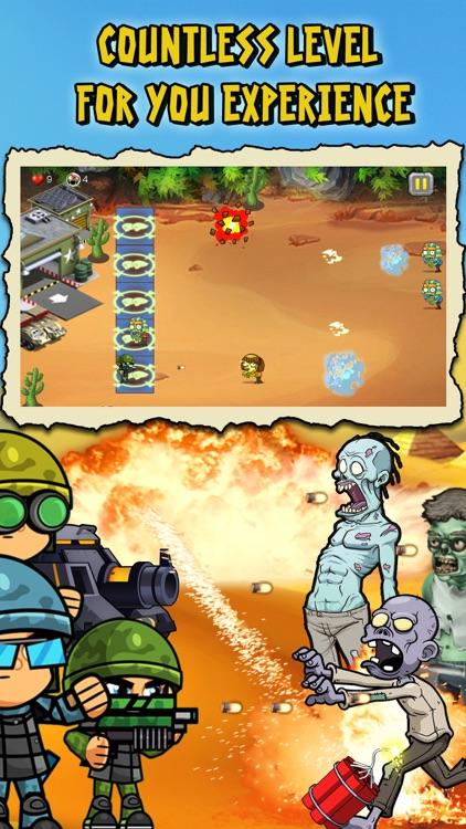 Ninja vs Zombies War in Desert