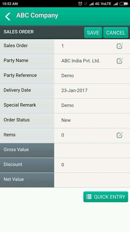 Bizeye Sales Order screenshot-3